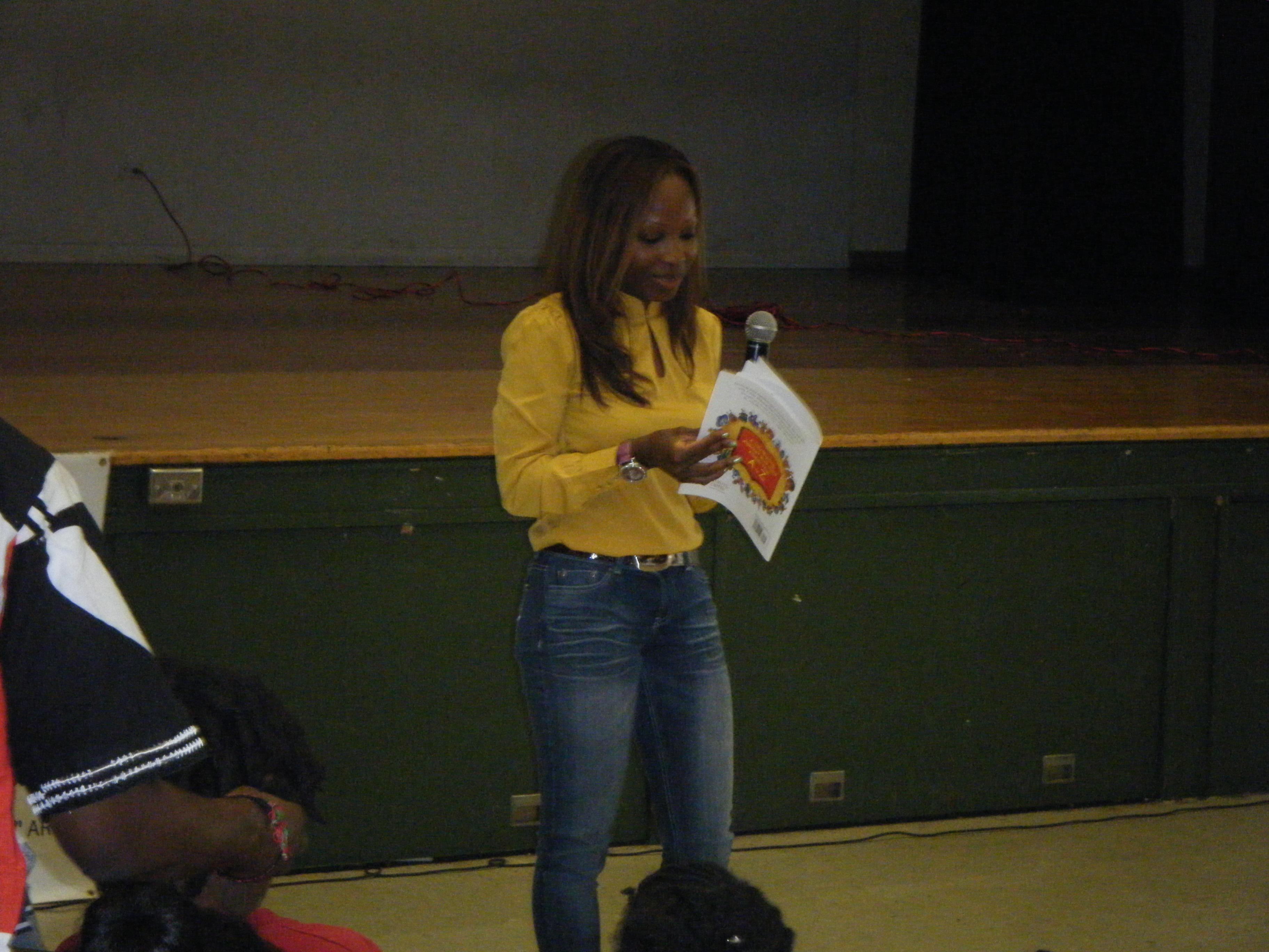 book reading @ westview school 5