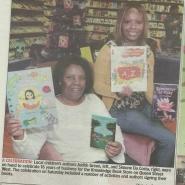 Pix of Me in The Brampton Guardian @ KnowledgeBookstore