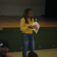 book reading @ westview school 5