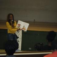 book reading @ westview school 6