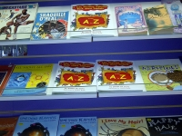 My book at Knowledge Book Store 9 18 2013 - pix 3