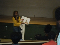 book reading @ westview school 6
